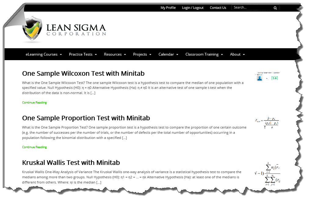 six sigma articles What is six sigma and the four phases of a six sigma project, strategies for introduction of six sigma in different organizations and criticism of six sigma.